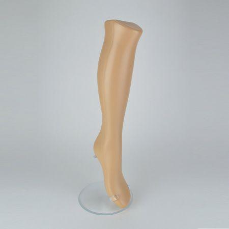 Γυναικείο Πόδι Βιτρίνας Μπεζ 56cm