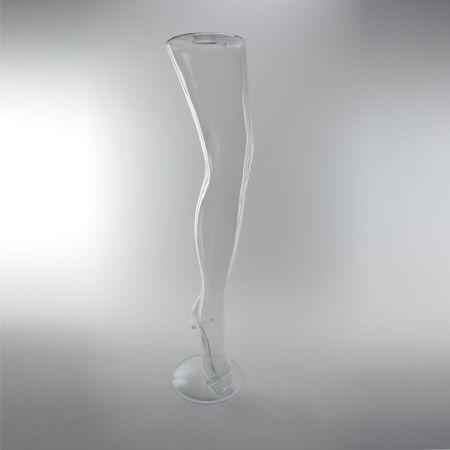 Γυναικείο Πόδι Βιτρίνας Διάφανο 77cm