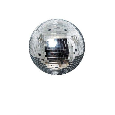 Διακοσμητική Disco μπάλα Ασημί 30cm