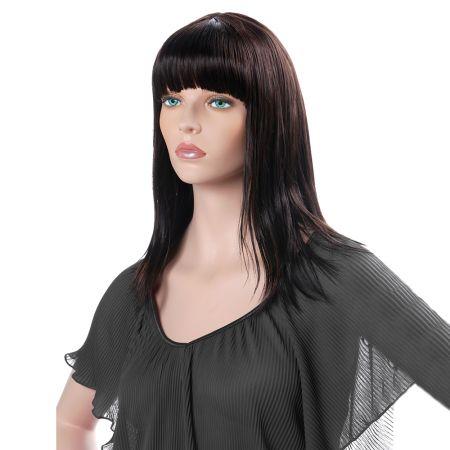 Γυναικεία Περούκα CONNIE Σκούρο Καστανό