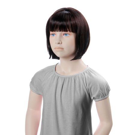 Παιδική Περούκα MINNIE Σκούρο Καστανό