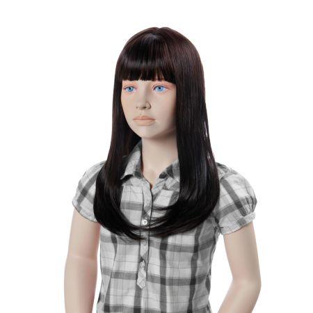 Παιδική Περούκα MONA LISA Σκούρο Καστανό