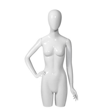 Γυναικείο Μπούστο Βιτρίνας 3/4 με Αφαιρετικό Κεφάλι 111.5cm