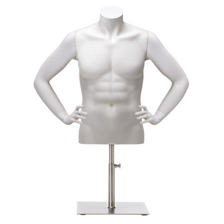 Ανδρικό Μπούστο Βιτρίνας Ακέφαλο 68cm