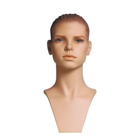 Διακοσμητικό Κεφάλι-Μπούστο Παιδικό με Make-up 38cm