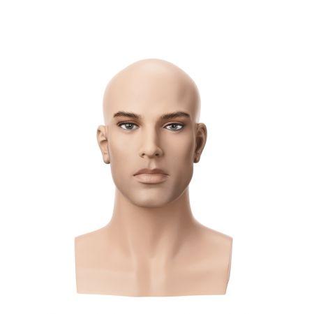 Διακοσμητικό Κεφάλι-Μπούστο Ανδρικό με Make-up 35cm