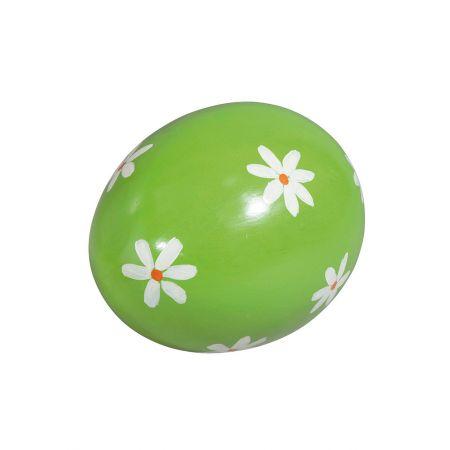 Διακοσμητικό ανοιξιάτικο αυγό, 30 cm , πράσινο