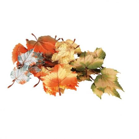 Σετ 72τχ Διακοσμητικά φύλλα Φθινοπωρινά 12cm