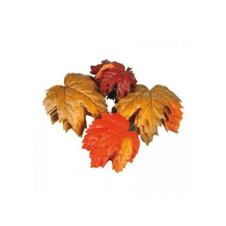 Σετ 36τμχ Διακοσμητικά φθινοπωρινά φύλλα Σφενδάμου 13x15cm