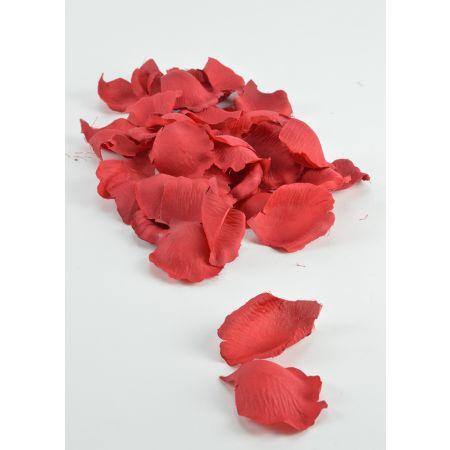Συσκευασία 60τχ Διακοσμητικά ροδοπέταλα Κόκκινα 5cm