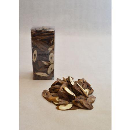Σετ 15gr Διακοσμητικά ξυλάκια - ροδέλες Φυσικό χρώμα 3-6cm