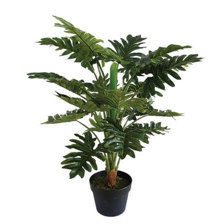 Τεχνητό φυτό Ζαμιοκούλκας σε γλάστρα (Real Touch) 80cm