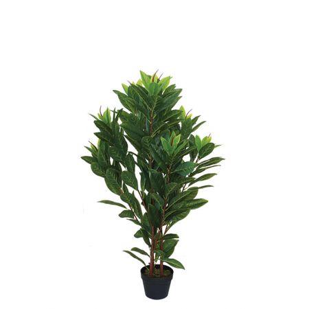 Διακοσμητικό Τεχνητό φυτό Μαγνόλια σε γλάστρα 110cm
