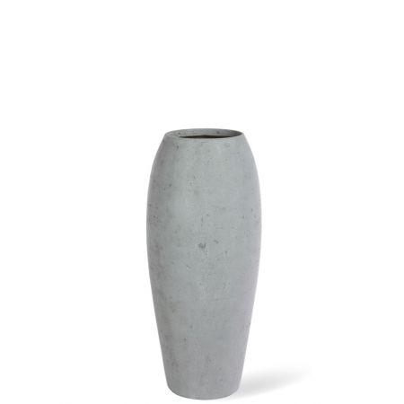 Γλάστρα-Βάζο ESSENCE με όψη πέτρας Γκρι 39x90cm