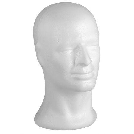 Διακοσμητικό Κεφάλι Ανδρικό Λευκό 31cm
