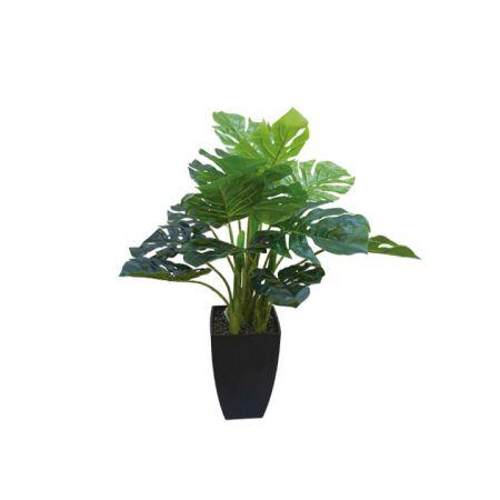 Τεχνητό φυτό Μονστέρα σε γλάστρα 65cm