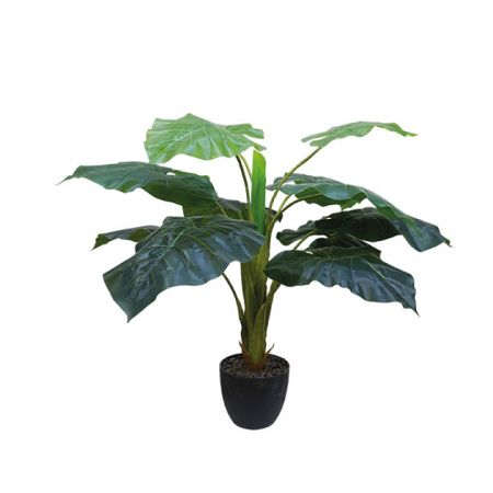 Τεχνητό φυτό Πλατύφυλλο σε γλάστρα 65cm
