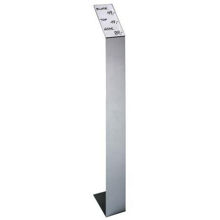Σταντ τιμών με μεταλλική βάση 80cm