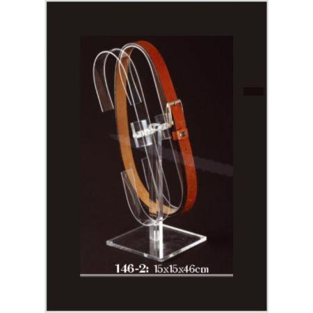 Σταντ Plexiglass για ζώνες 15x15x46cm