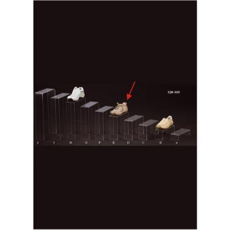 Σταντ Plexiglass για παπούτσια 25x10x25cm
