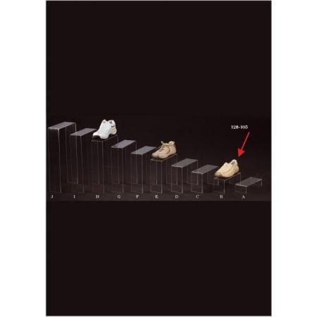 Σταντ Plexiglass για παπούτσια 25x10x10cm