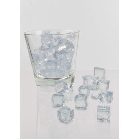 Σετ 100τχ Απομίμηση πάγου - παγάκια 1,5x1,5cm