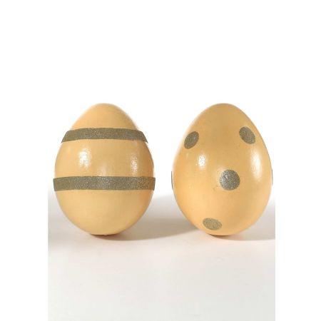Σετ 2 τχ. διακοσμητικά αυγά, 30x25 cm