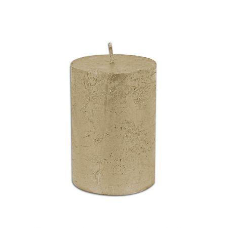 Διακοσμητικό κερί - κορμός Σαμπανί 6.5x10cm