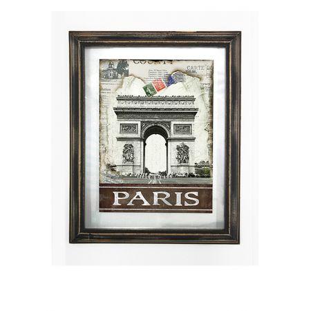 Διακοσμητικός Πίνακας Paris 39x48cm