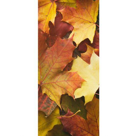 Διακοσμητική αφίσα με φθινοπώρινα φύλλα 90x200 cm