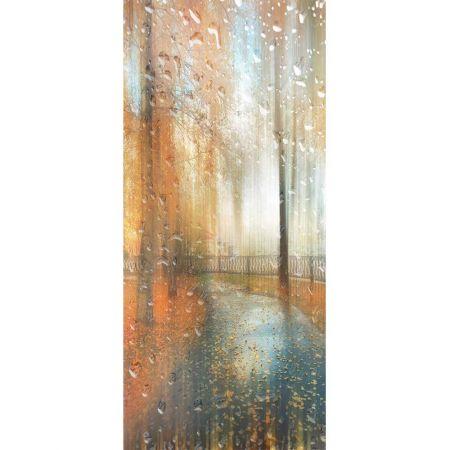 Διακοσμητική αφίσα με βροχερό τοπίο 90x200cm