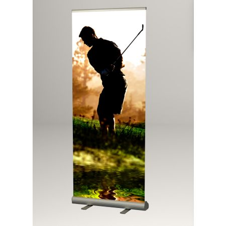 Σταντ δαπέδου πτυσσόμενο για Banner 80x230cm
