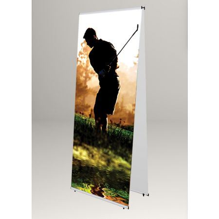 Σταντ δαπέδου πτυσσόμενο για Banner 80x200cm
