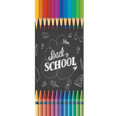 Διακοσμητική αφίσα με μολύβια 90x200cm
