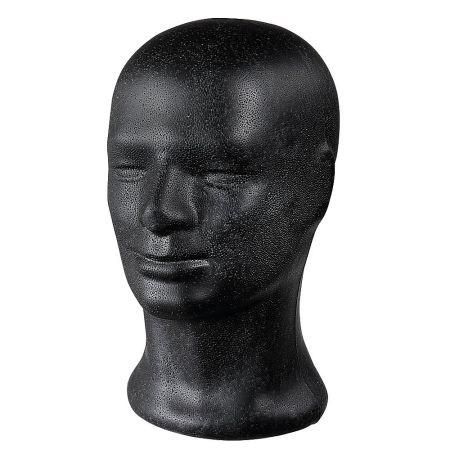 Διακοσμητικό Κεφάλι Ανδρικό Μαύρο 31cm
