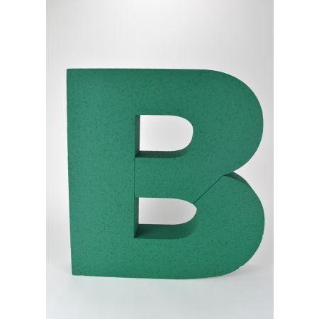 XL Διακοσμητικό γράμμα Β Πράσινο 58x53x10cm