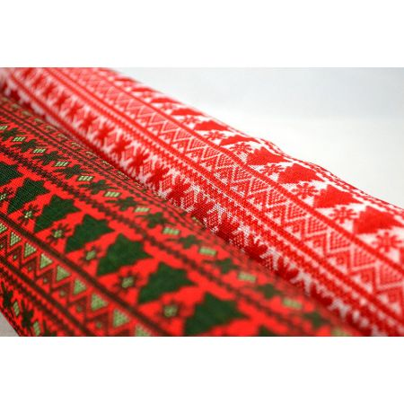 Διακοσμητικό ύφασμα TRADITIONAL CHRISTMAS 50cmx18.2m