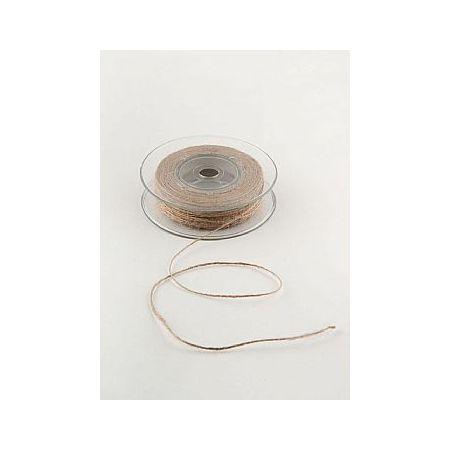 Διακοσμητικό κορδόνι ΓΙΟΥΤΑ ΨΙΛΗ Φυσικό 1mmx50m