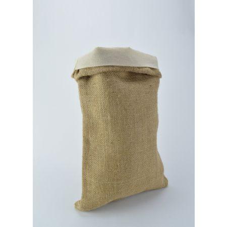 Σετ με ένα τσουβάλι λινάτσα και ένα λονέτα, 30x40 cm (Μ x Υ)