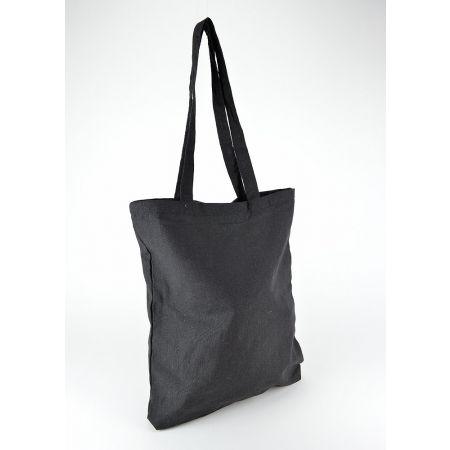 Τσάντα βαμβακερή Μαύρη 37x42cm