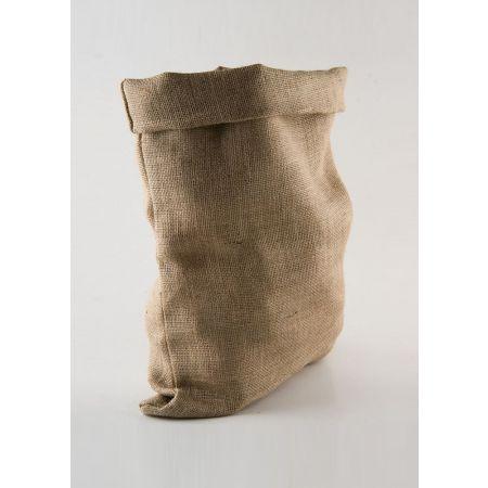 Διακοσμητικό τσουβάλι κατασκευασμένο από λινάτσα.