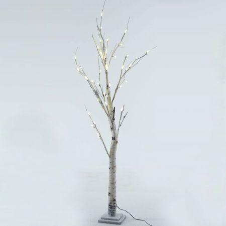 Φωτιζόμενο δέντρο Χριστουγέννων χιονισμένο 51LED 150cm