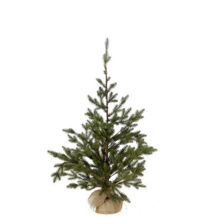 Χριστουγεννιάτικο δεντράκι - PE PLASTIC με βάση τσουβάλι 60x90cm