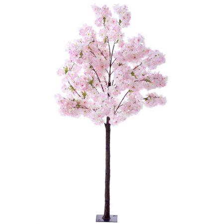 Διακοσμητικό δέντρο κερασιάς με Ροζ άνθη, 180cm