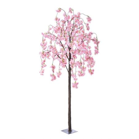Τεχνητό δέντρο Αμυγδαλιά με Ροζ άνθη 180cm