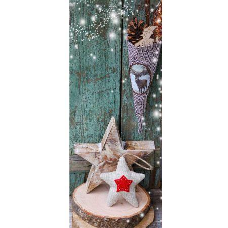 Διακοσμητική χριστουγεννιάτικη αφίσα - Lucia - 75x180cm