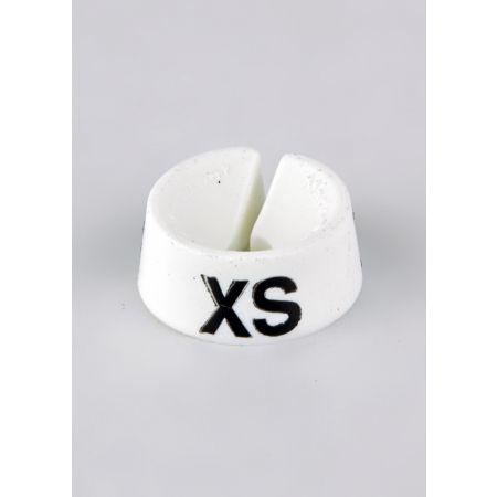 XS Σετ 25τμχ Νουμεροδείκτες Λευκό/Μαύρα γράμματα
