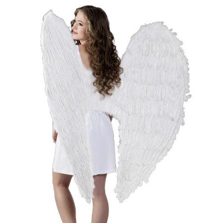 Διακοσμητικά φτερά αγγέλου με μεταλλική ενίσχυση για περισσότερη σταθερότητα.