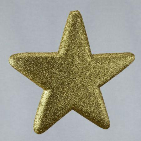 Διακοσμητικό χριστουγεννιάτικο αστέρι χρυσό, 40cm