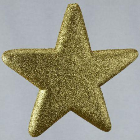 Διακοσμητικό χριστουγεννιάτικο αστέρι, χρυσό, 50cm